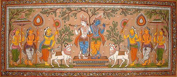 The Lila of Balarama & Krishna