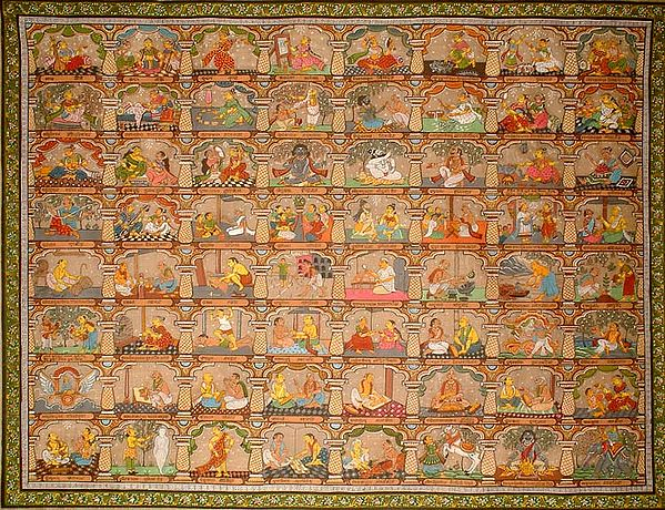 The Sixty-Four Kalas of Hindu Pantheon from the Kama Sutra