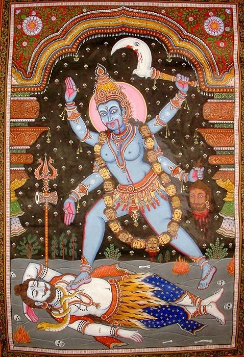 The Tantrik Goddess