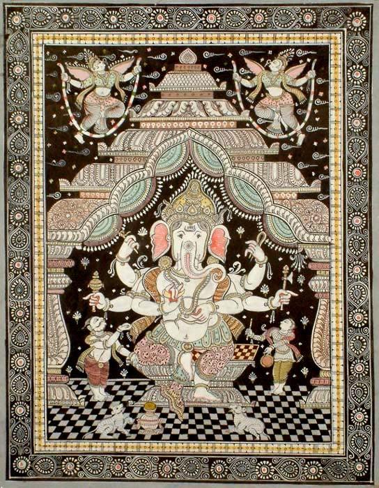The Worship of Ganesha