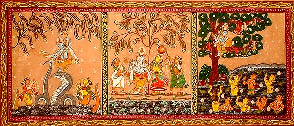 Three Incidents from Krishna's Life