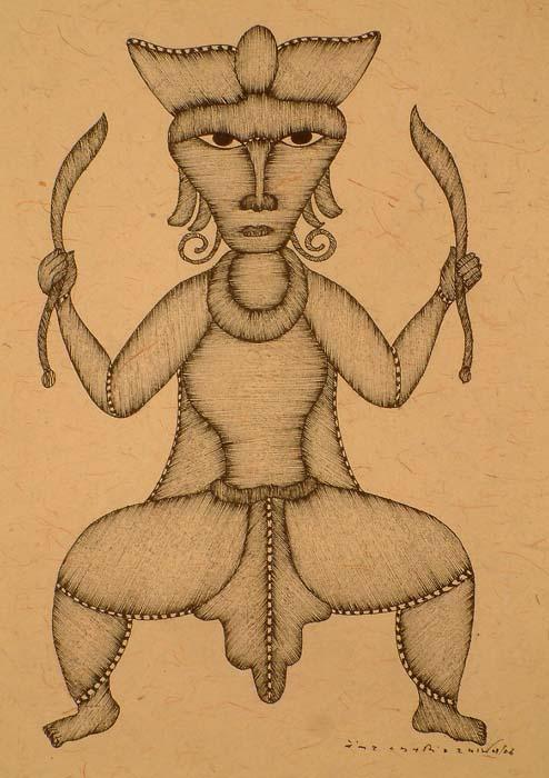 Tribal Shiva