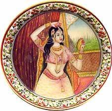 Woman wearing the Tika