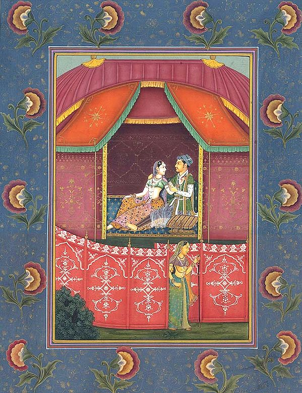 A Guarded Romance in the Shamiana