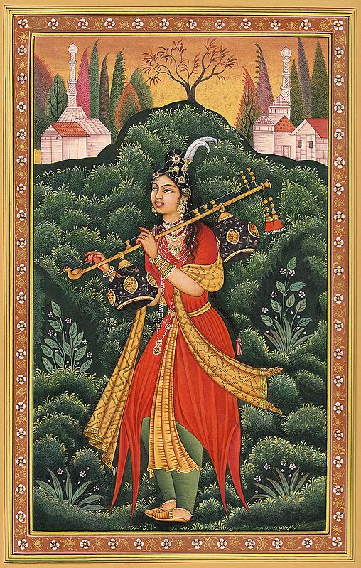 Yogini from Deccan, Perhaps the Princess Badr-e-Munir