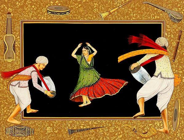 A Folk Dancer from Rajasthan