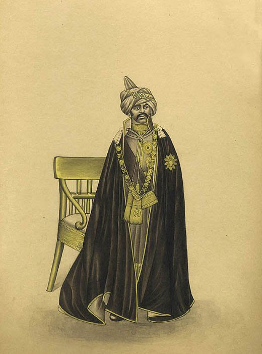 Monarch from the Deccan