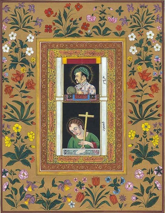 Pendant-Portrait of Jahangir with Jesus