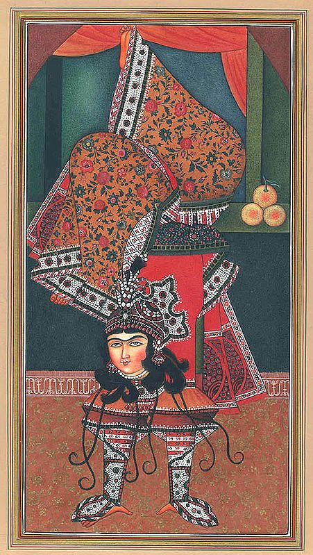 Persian Inverted Dancer