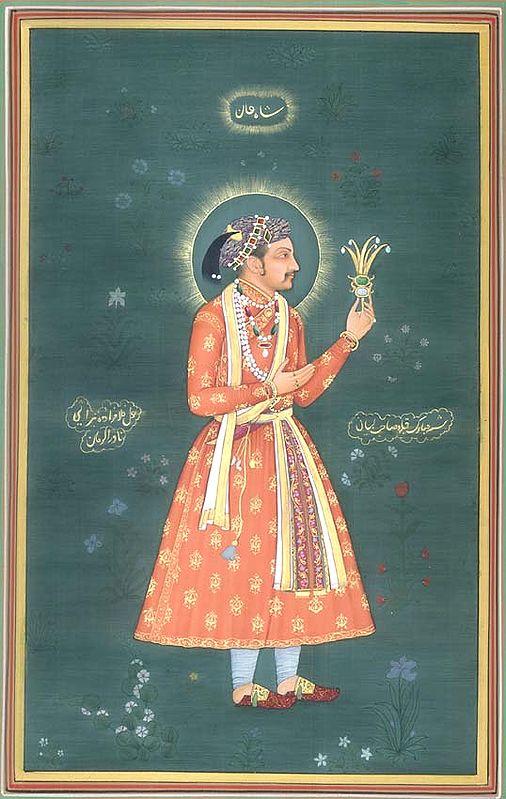 Portrait of Shahjahan