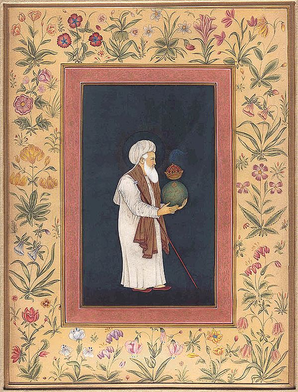 Sufi with Crowned Globe
