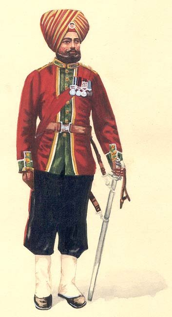 15th Bengal Native Infantry (Ludhiana Sikhs), 1893