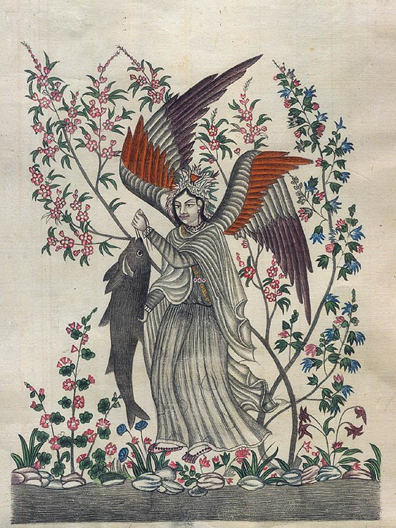 The Angel with Fish