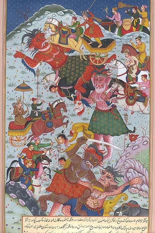 The Death of Ghatotkacha