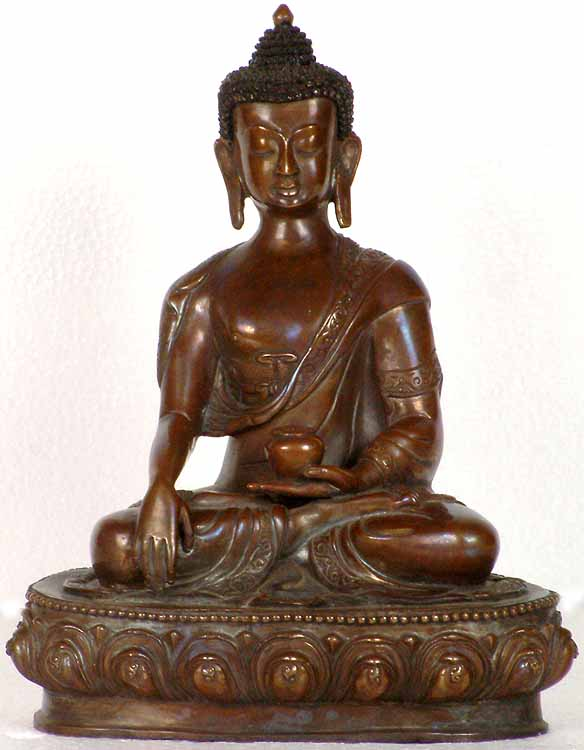 Buddha with Begging Bowl
