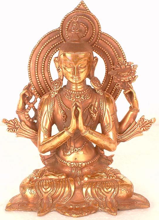 Four-Armed Avalokiteshvara
