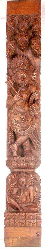 Mahakala Temple Strut