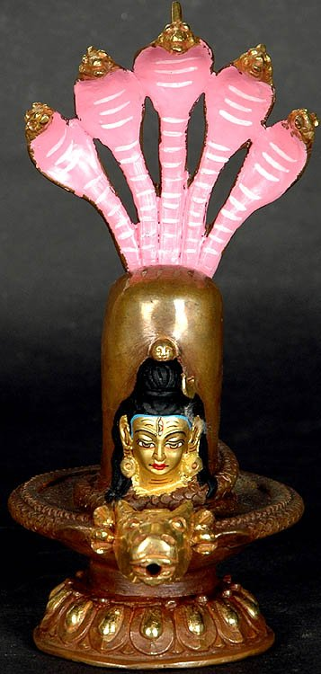 Mukhalinga with Snake Hood