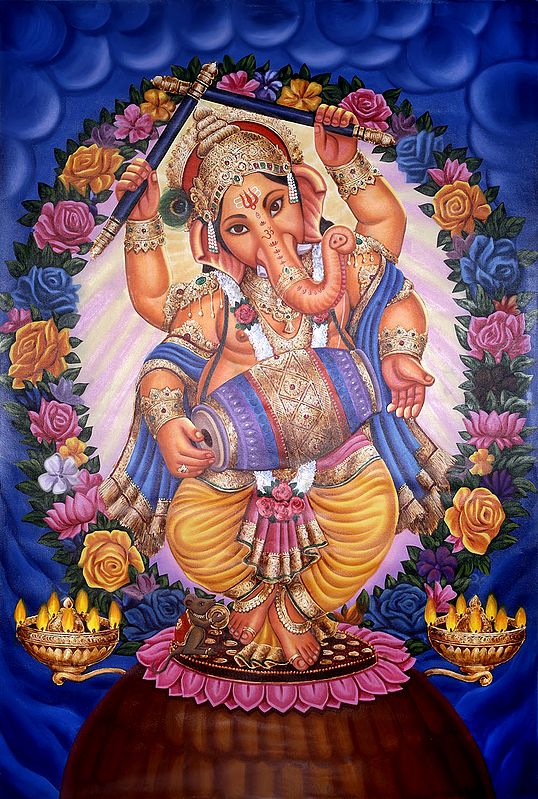 Ganesha Spreading Love