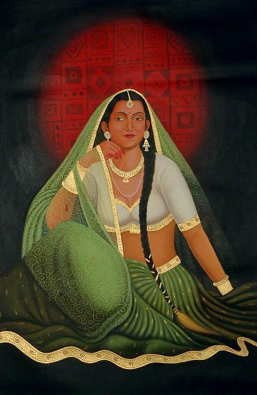 A Rajasthani Bride