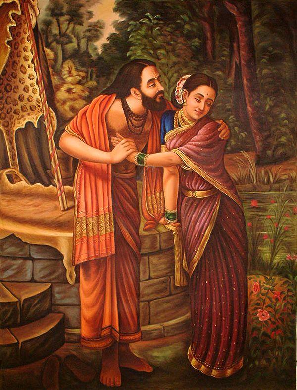 Dushyanta and Shakuntala
