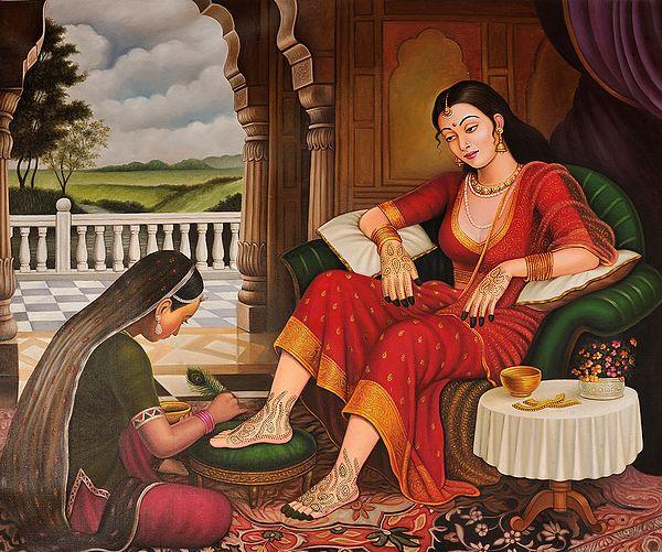 Mehandi of the Bride