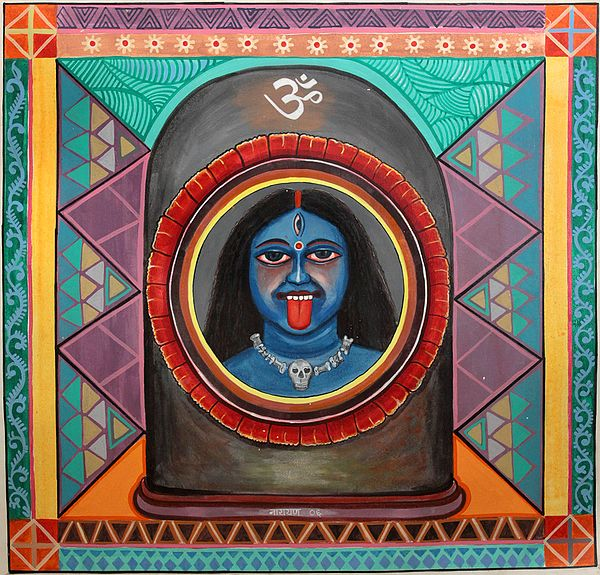 Union of Kali and Shiva: A Tantrika Vision