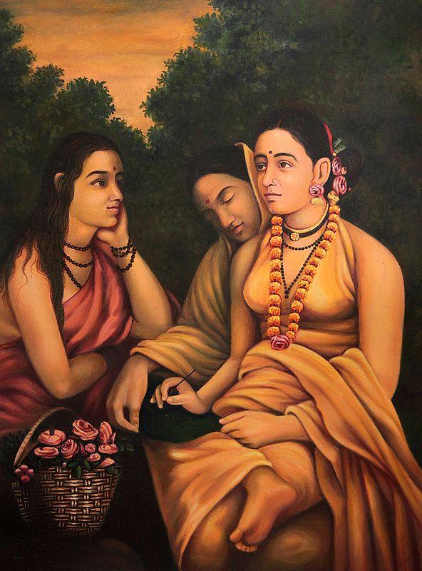 Shakuntala Writes a Letter