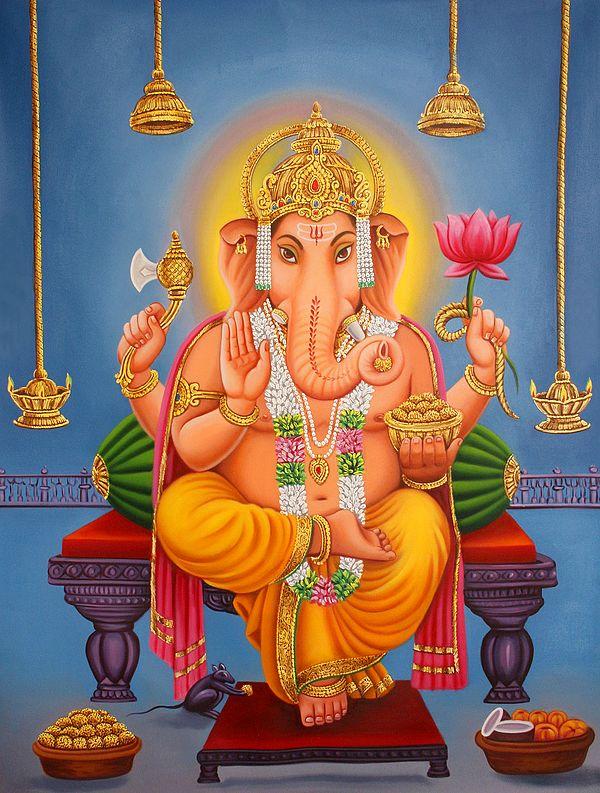 His Majesty Lord Ganesha