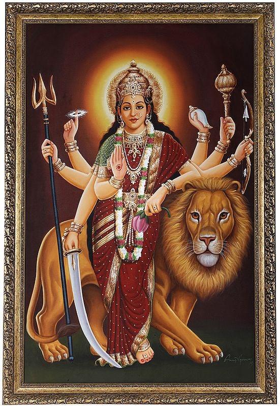 The Placid Devi Durga (Framed)