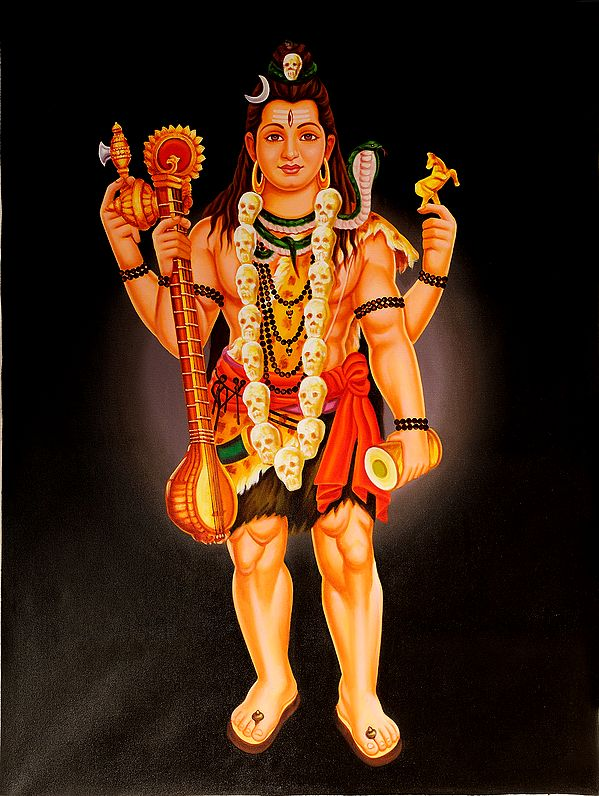 The Inspired Veenadhari Mahadeva