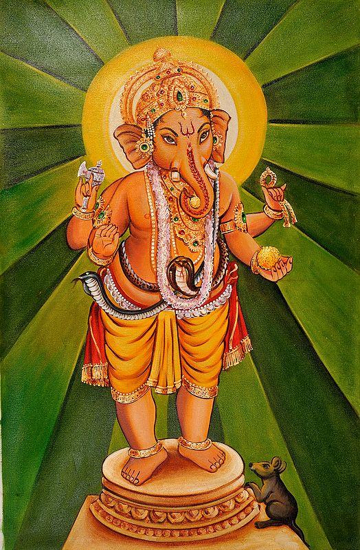 The Radiant Ganesha
