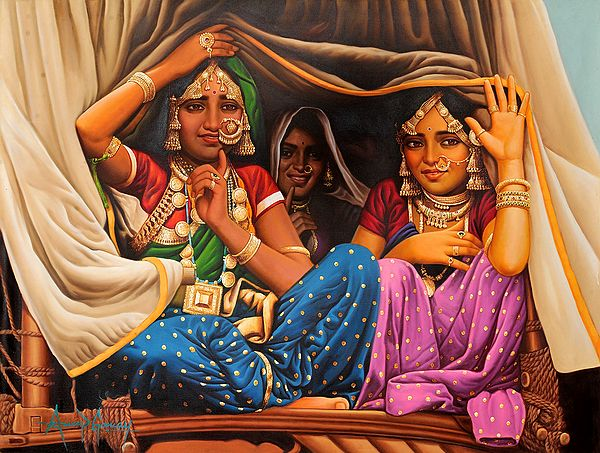 Three Gypsy Ladies