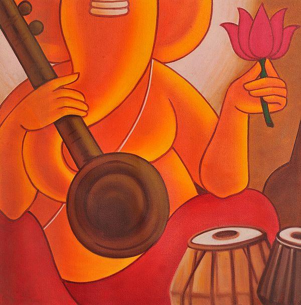 Lord Ganesha - The Musician