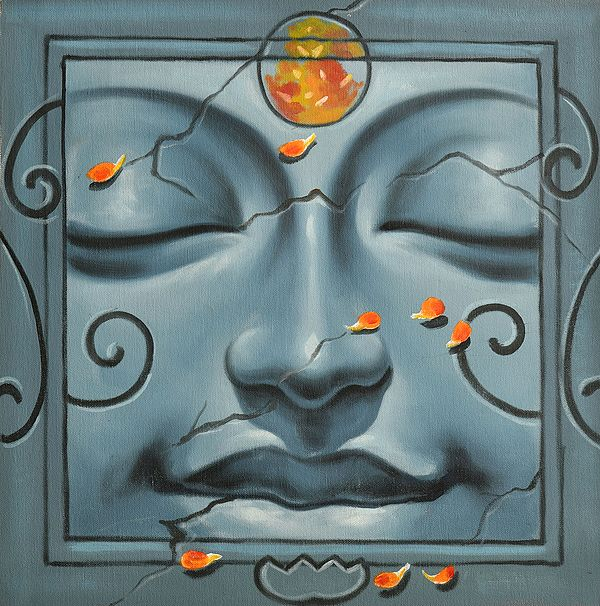 Lord Buddha Face Series (One)