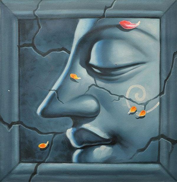 Lord Buddha Face Series (Three)