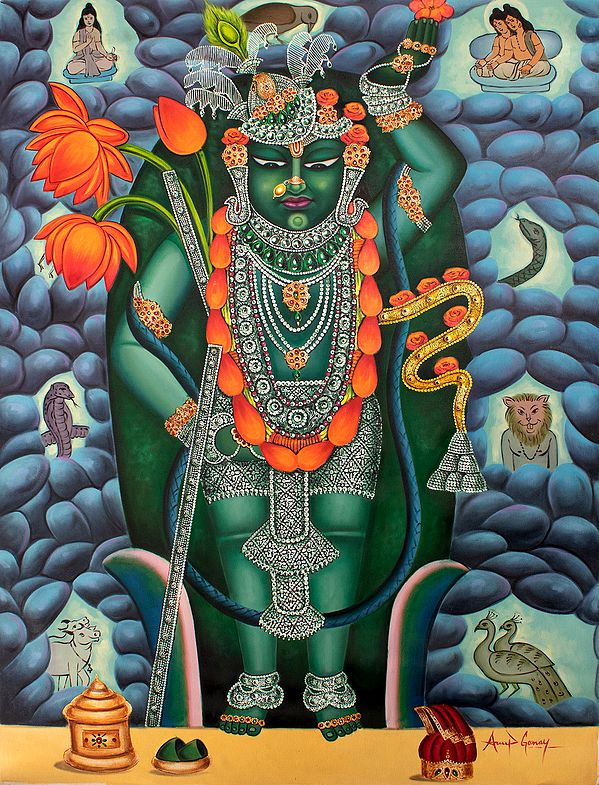 Shrinathji Of Nathdvara