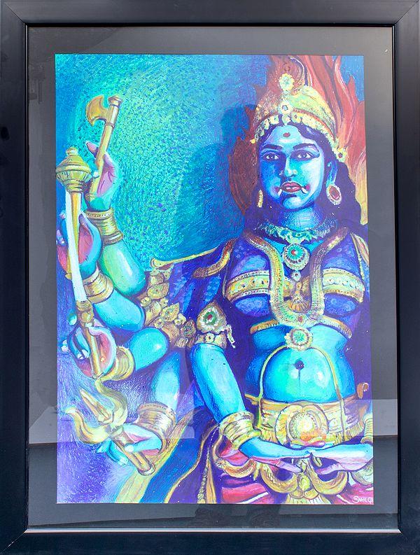 The Gaze Of Mother Kali
