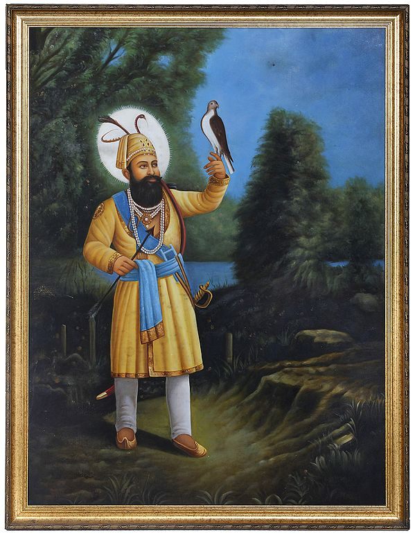 Guru Gobind Singh - The Warrior Guru (Framed)