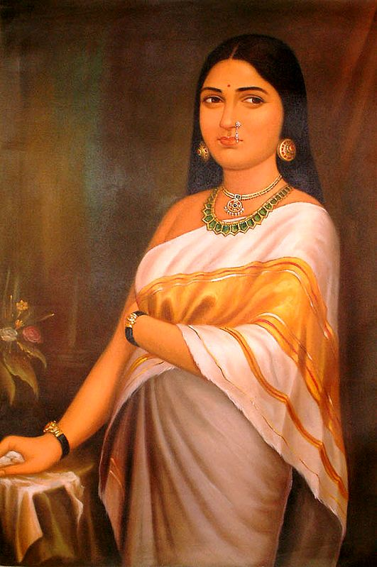 Portrait of a Lady from Kerala