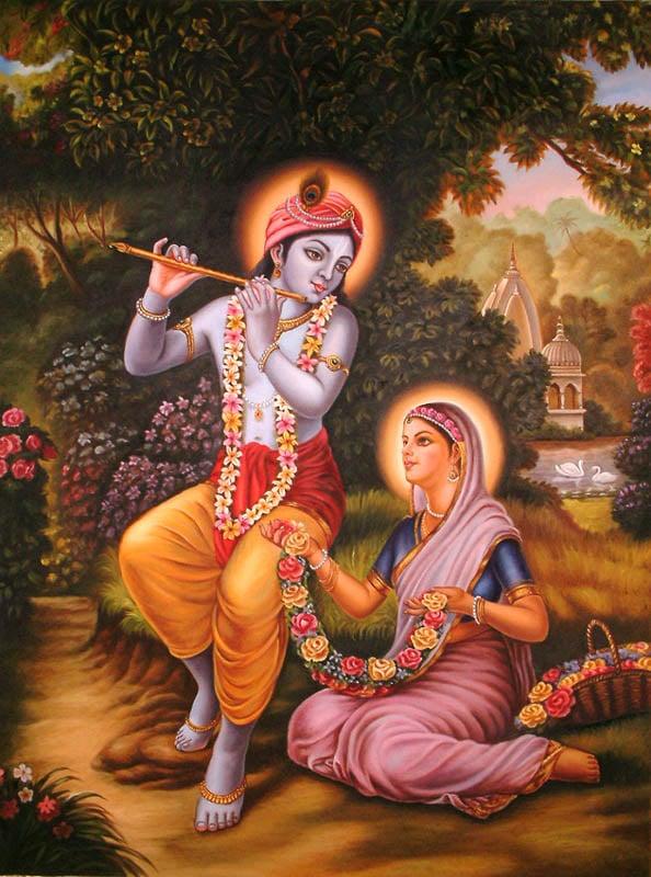 Radha Krishna the Divine Couple