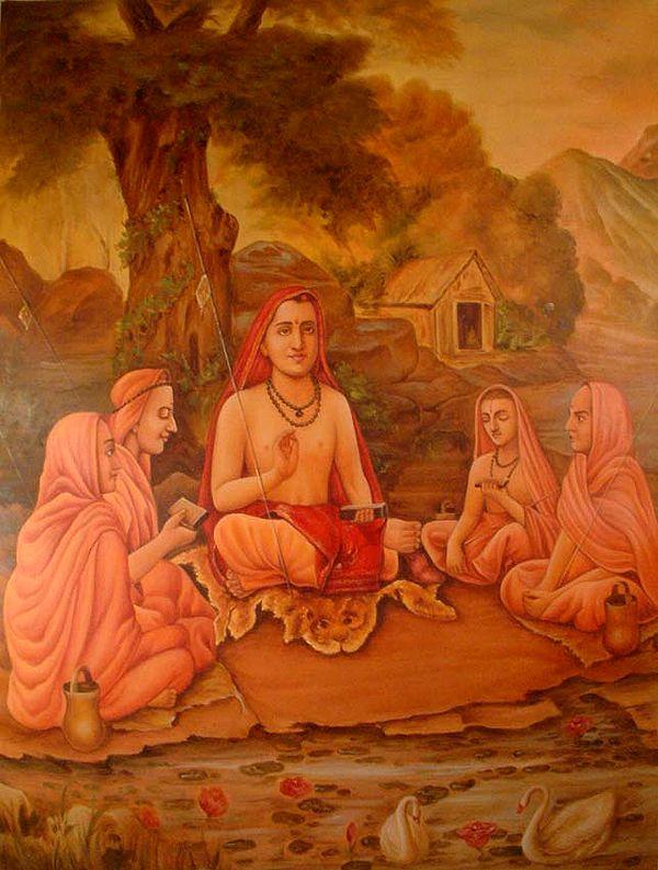 Shankaracharya and Disciples