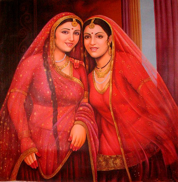 Sisters from Rajasthan