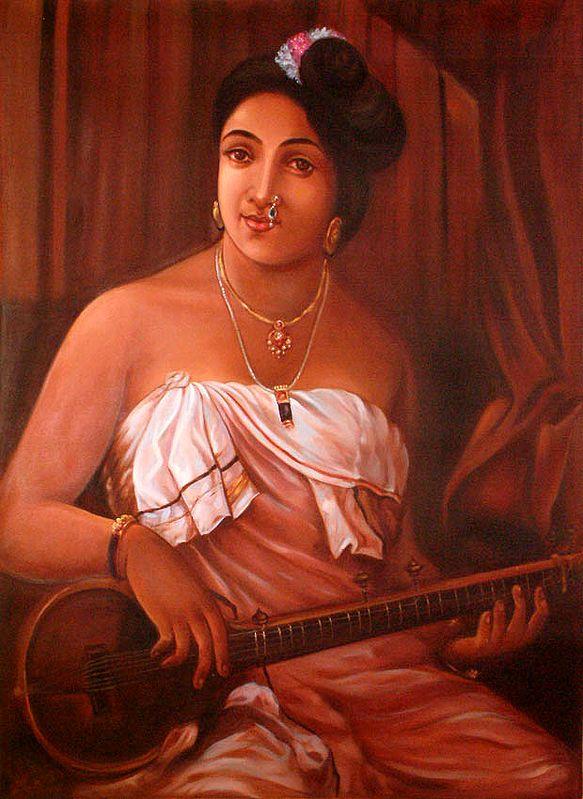 The Veena Player