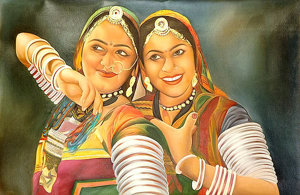 Two Gypsy Ladies