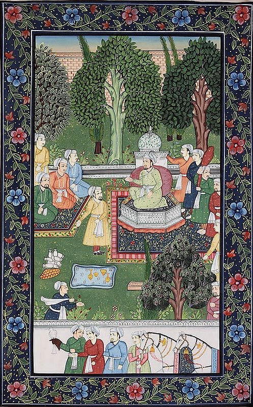 A Persian Outdoor Court