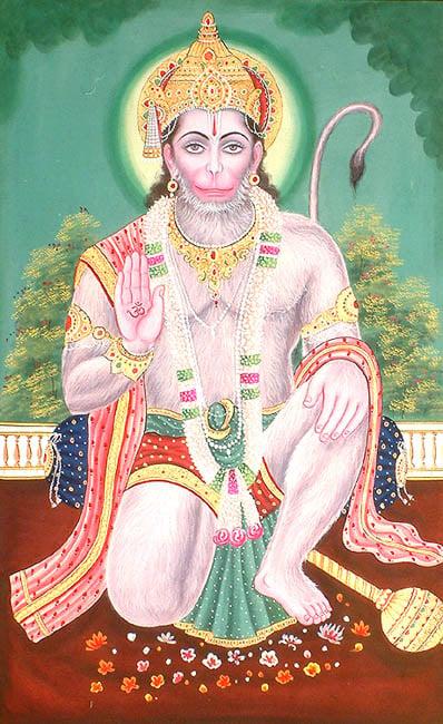 Blessing Hanuman