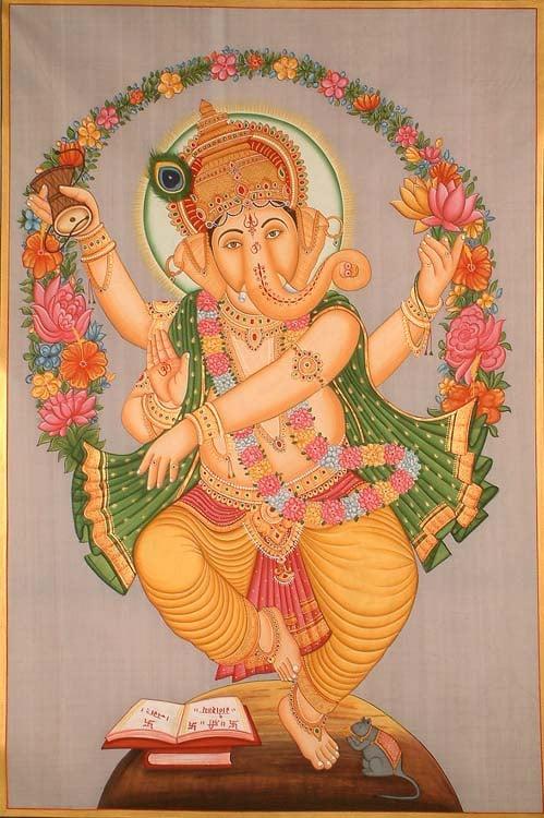 Dancing Ganesha