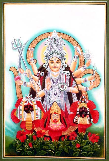 Devi the Mother Goddess