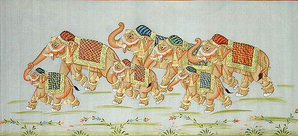 March of Elephants